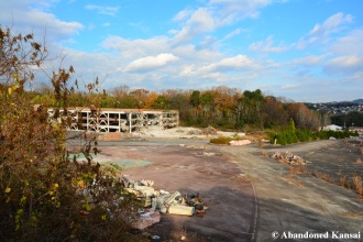 Nara Dreamland Parking Lot Game Center Demolished