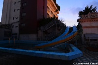 Abandoned Luxury Hotel Waterslide