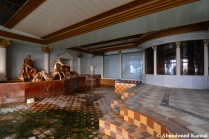 Abandoned Trump Hotel Bath