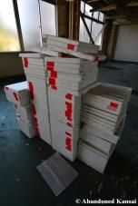 Abandoned styrofoam