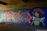 Graffiti Construction Ruin