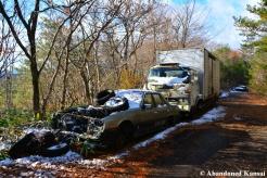 Abandoned Cars Japan