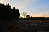 Abandoned Country Club Parking Lot