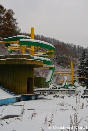 Abandoned Frozen Theme Park