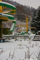 Abandoned Frozen Water Park