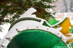 Collapsed Water Slide