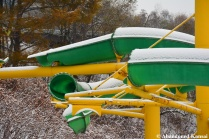 Green Yellow Water Slide