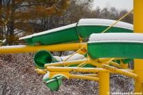 Green Yellow Water Slide