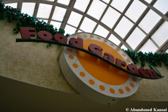 Abandoned Food Court Sign