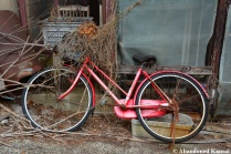 Abandoned Red Bike