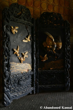 Abandoned Wood Carving