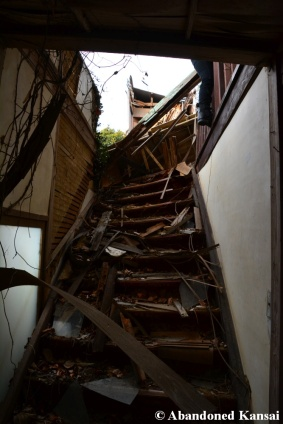 Staircase to A Missing Second Floor