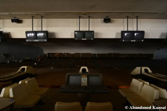 Abandoned Bowling Alley Lanes