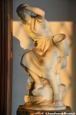 Abandoned Luxury Mansion Statue
