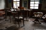 Abandoned Old Doctor'sDesk