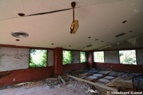 Abandoned Restaurant Dining Area