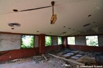 Abandoned Restaurant Dining Area