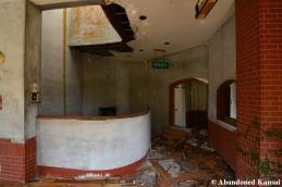 Abandoned Restaurant Hallway