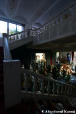 Abandoned Room Full Of Statues