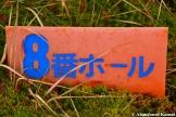 8th Hole Sign