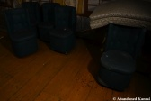 Abandoned Dark Hotel Lounge