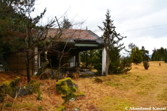 Abandoned Ground Golf Club House