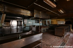 Abandoned Rest Stop Kitchen
