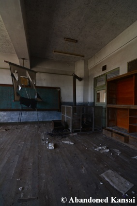 Abandoned Coal-Heated School