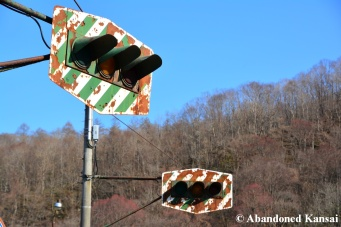Abandoned Japanese Traffic Lights