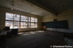 Abandoned School Boarded-up