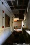Abandoned School Wooden FloorHallway