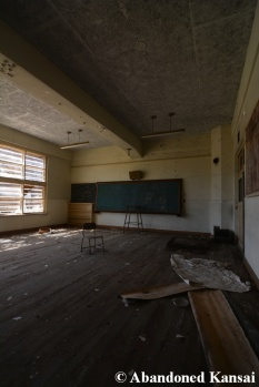 Abandoned School Wooden Floor